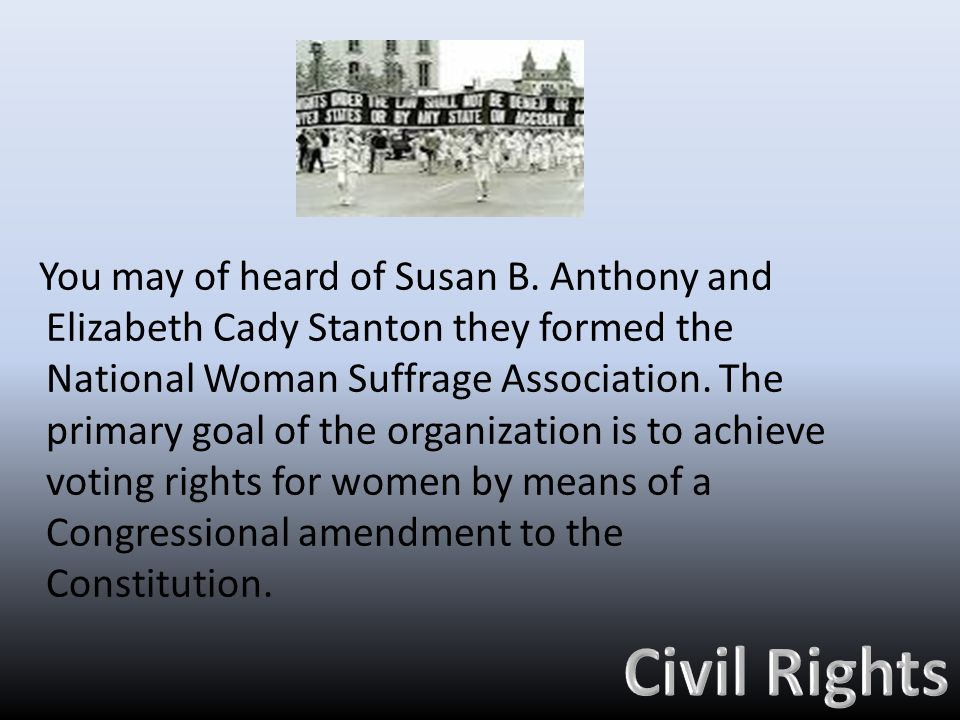 Civil Rights Women are viewed by men as beings who have something that men want—generally, affection.