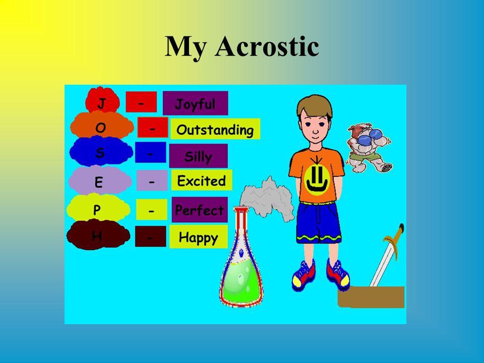 My Acrostic