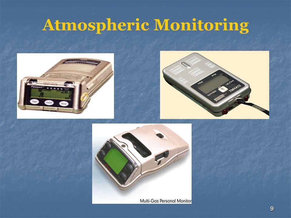 9 Atmospheric Monitoring