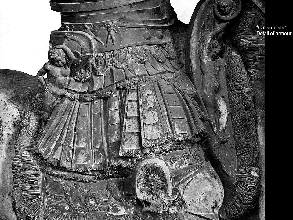 """Gattamelata"", Detail of armour"
