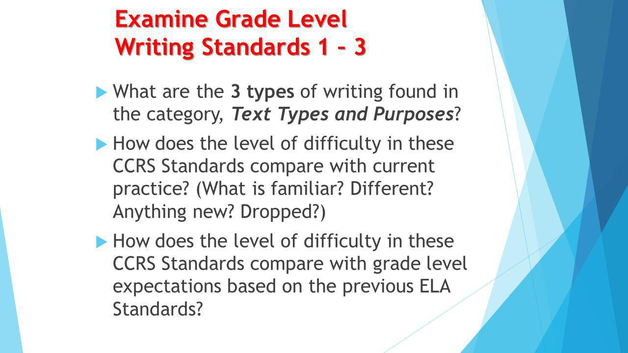 Balance of Student Writing Parallels NAEP L