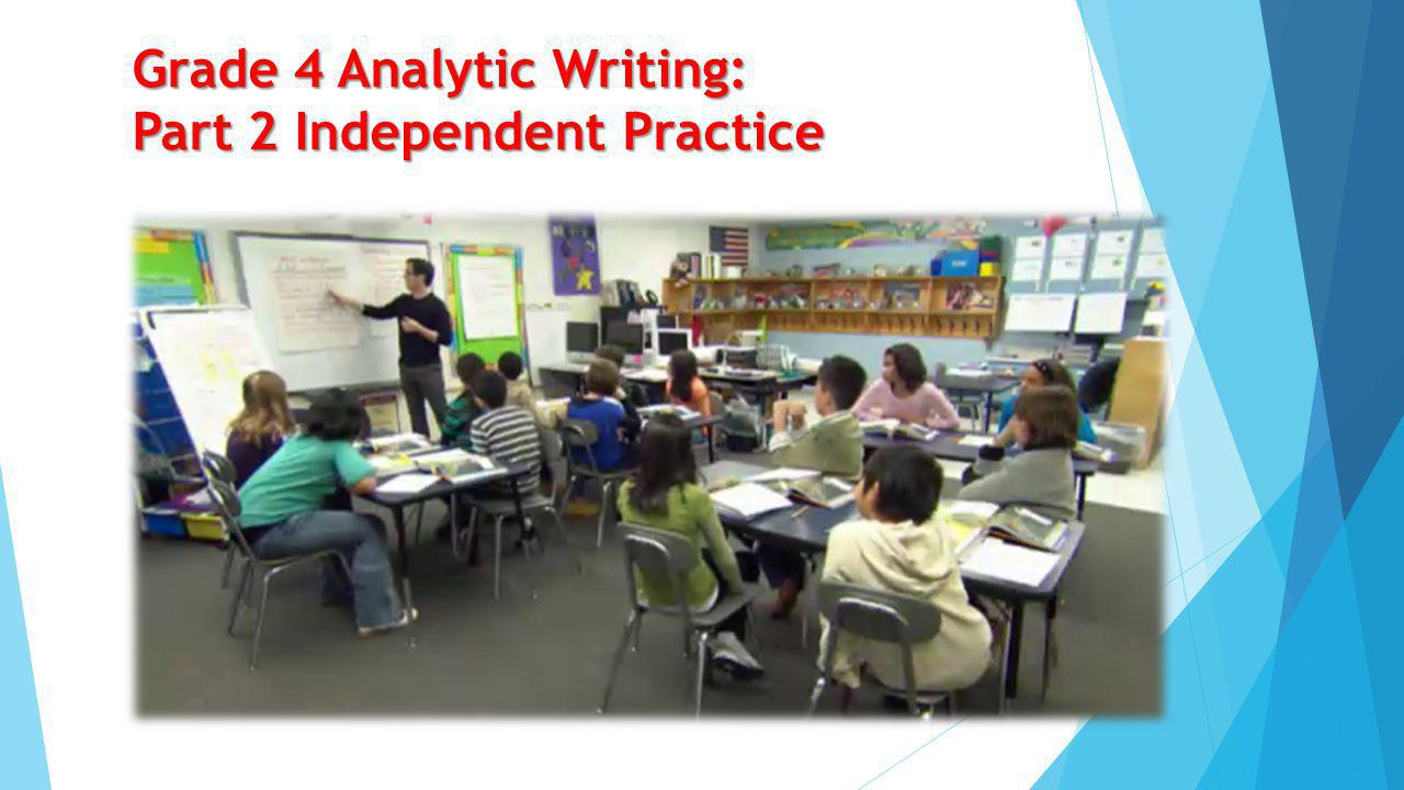 Grade 2 Analytic Writing