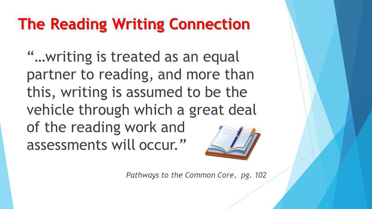 "What is ""writing from sources""? tied to in response to about  Analytical writing tied to literary and informational texts; writing in response to tex"