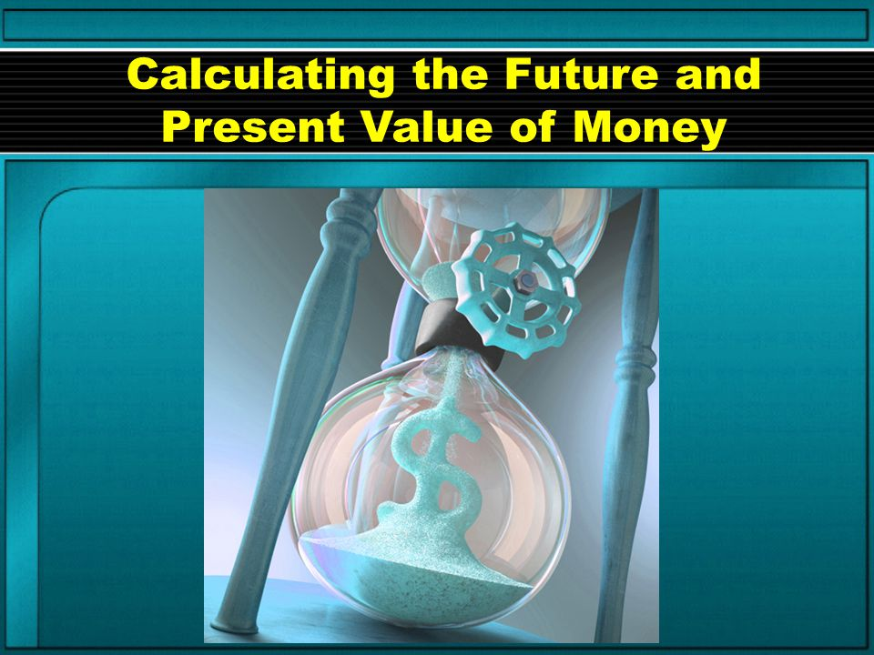 FV = p (1 + i) n Things we need to know: Interest rate = i Number of periods (years) invested = n Principal amount invested = p Also, if the principal amount is not given, we need to know the future value = FV Future Value