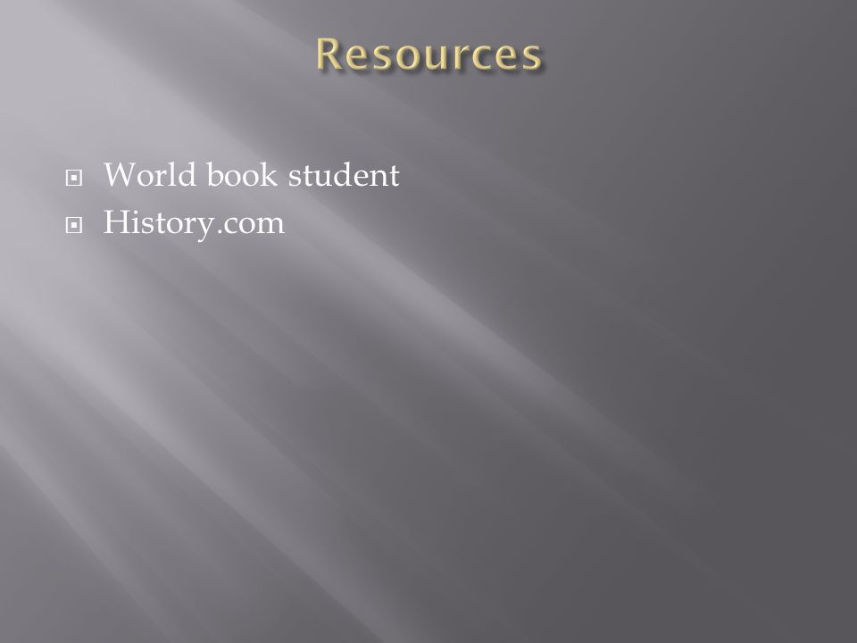  World book student  History.com