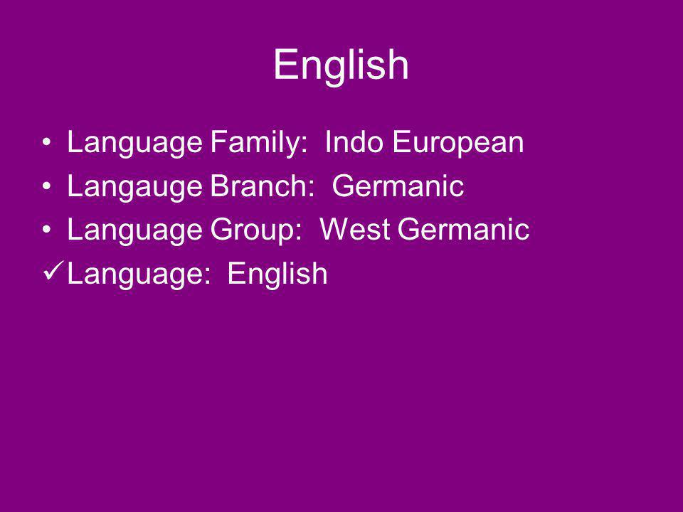 Diffusion to Other Languages English words have become increasingly integrated into other languages.