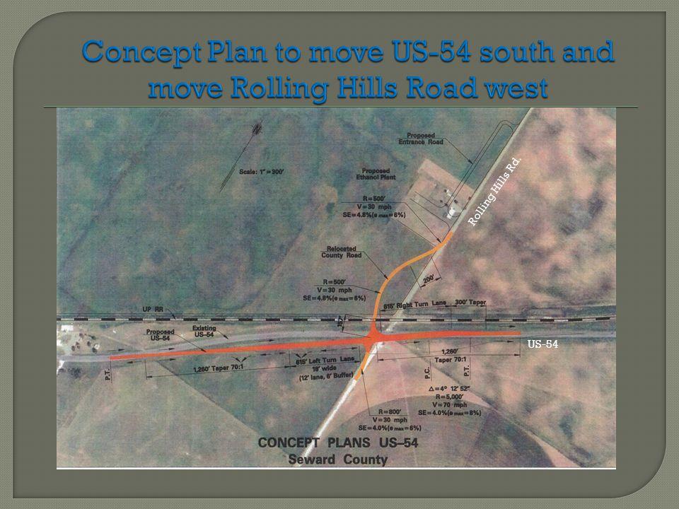 Rolling Hills Rd. US-54