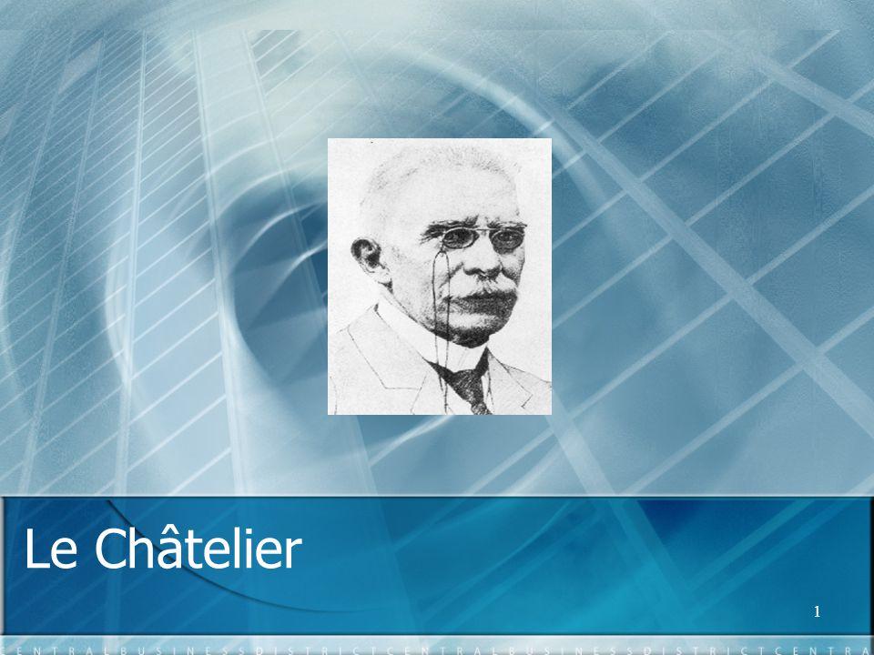 1 Le Châtelier