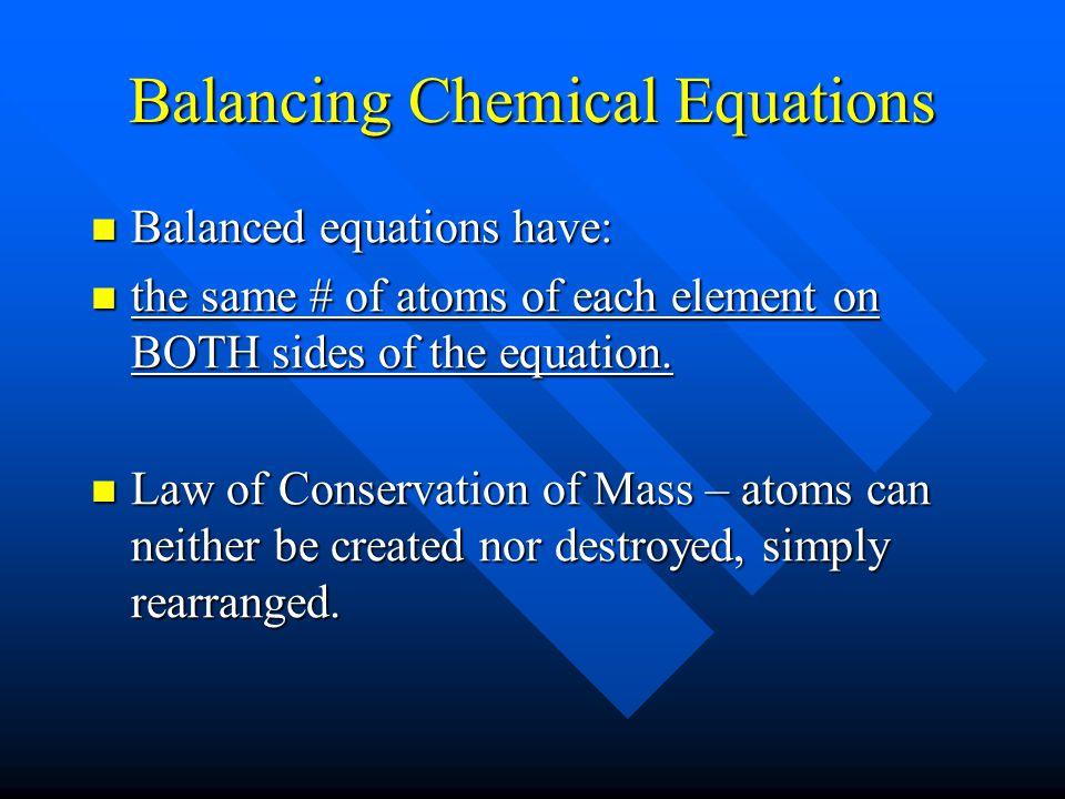Symbols Used (s) solid (s) solid (l) liquid (l) liquid (g) gas (g) gas (↑)gas as a product (↑)gas as a product (aq) aqueous (in water solution) (aq) a
