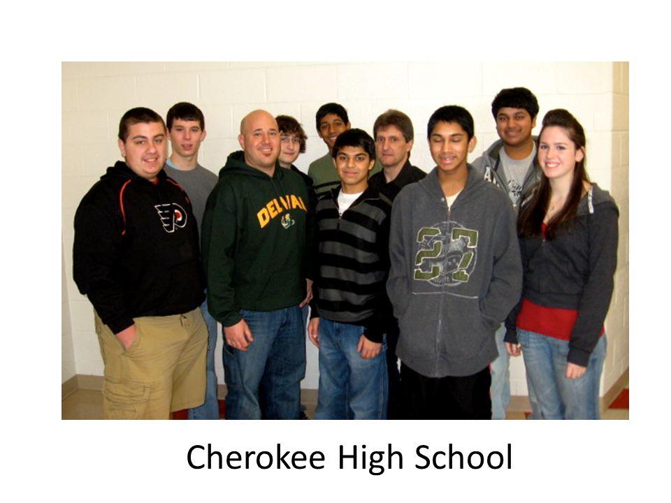 4 th Place Winners Lenape High School 1