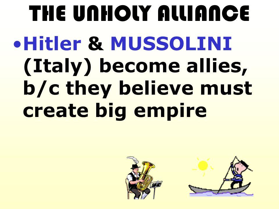 Hitler thinks Euro weak & won't stop him.