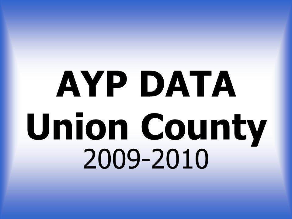 AYP DATA Union County 2009-2010