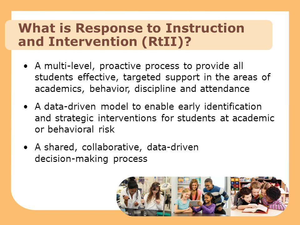 RtII: Academic Instruction Office of Curriculum and Assessment