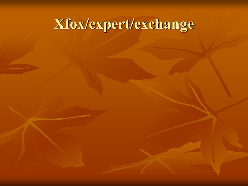 Xfox/expert/exchange