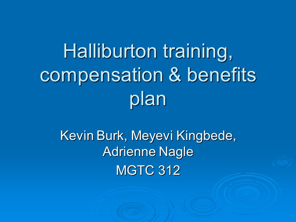 Compensation & Benefits  Goal use foreign nationals to train/lead Iraqis with a goal of converting 80% of management and leadership to local Iraqi staff within 6 years.