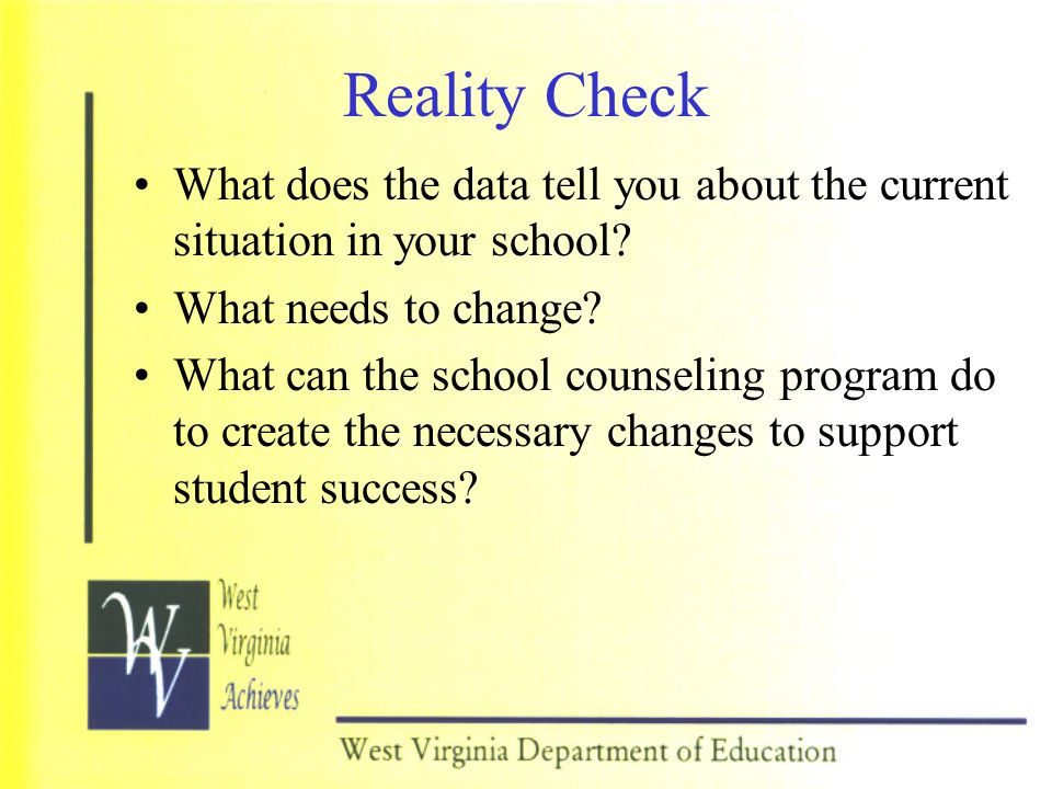 What Will The Results Be.Every student will benefit from the school counseling program.
