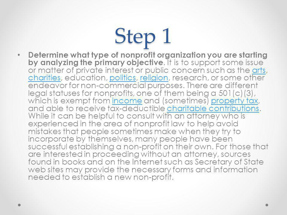 Step 12 Fulfill charitable solicitation law requirements.
