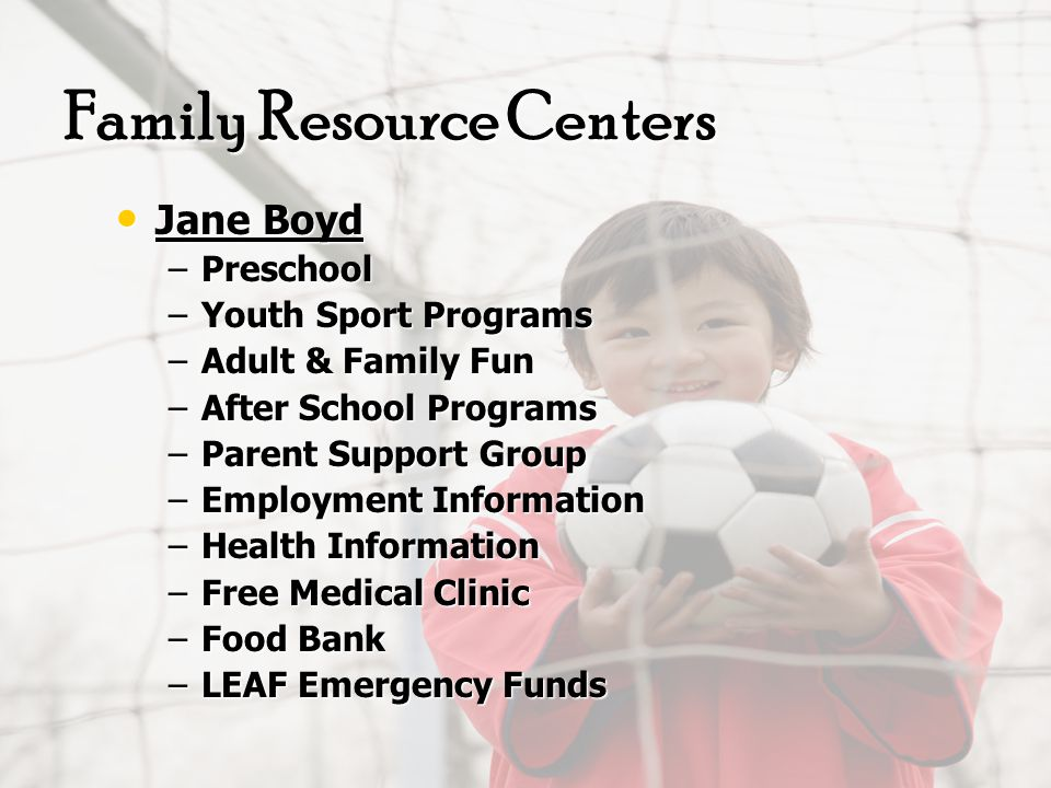 Individuals and families referred to the required services such as mental health agencies, medical services, family counseling, parenting classes or life skills classes that held by various social services agencies in the community.