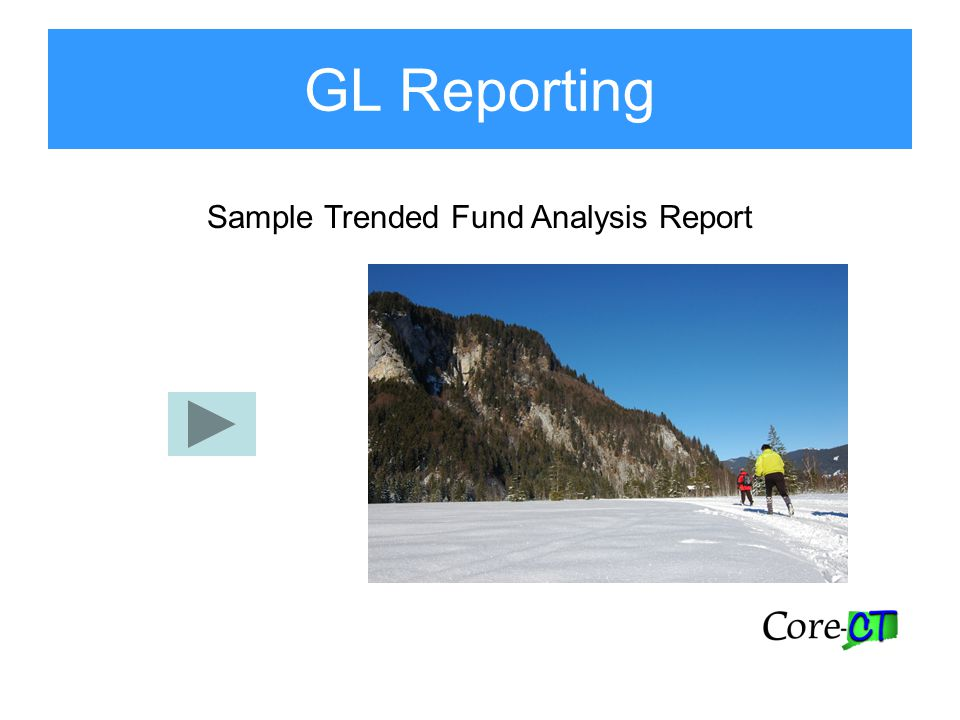 Sample Trended Fund Analysis Report