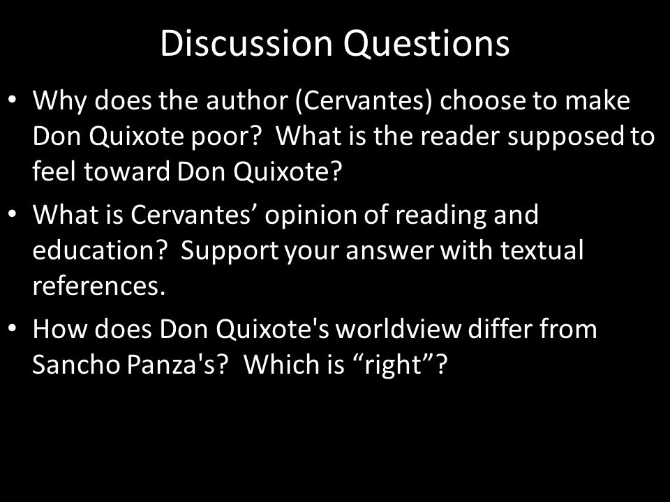 DayLesson MondayOff TuesdayShow projects Read Don Quixote (p.