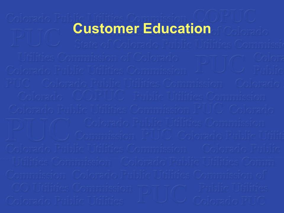 Customer Education