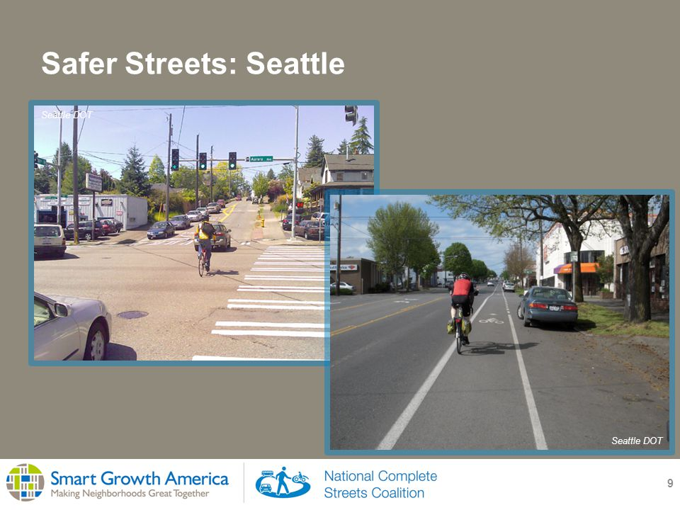Safer Streets: Seattle 9 Seattle DOT
