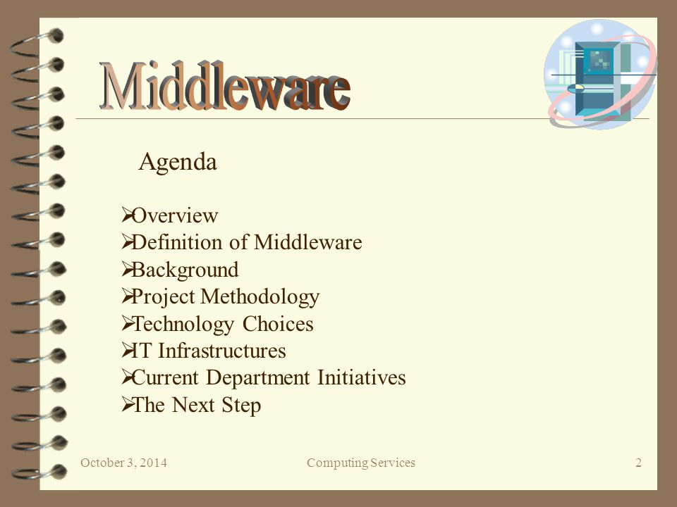 October 3, 2014Computing Services 3  Overview Our mission - To research, evaluate and make preliminary recommendations for a set of software tools.
