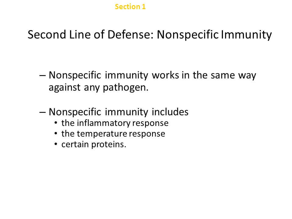 Chapter 47 Mucous Membranes Section 1 Nonspecific Defenses