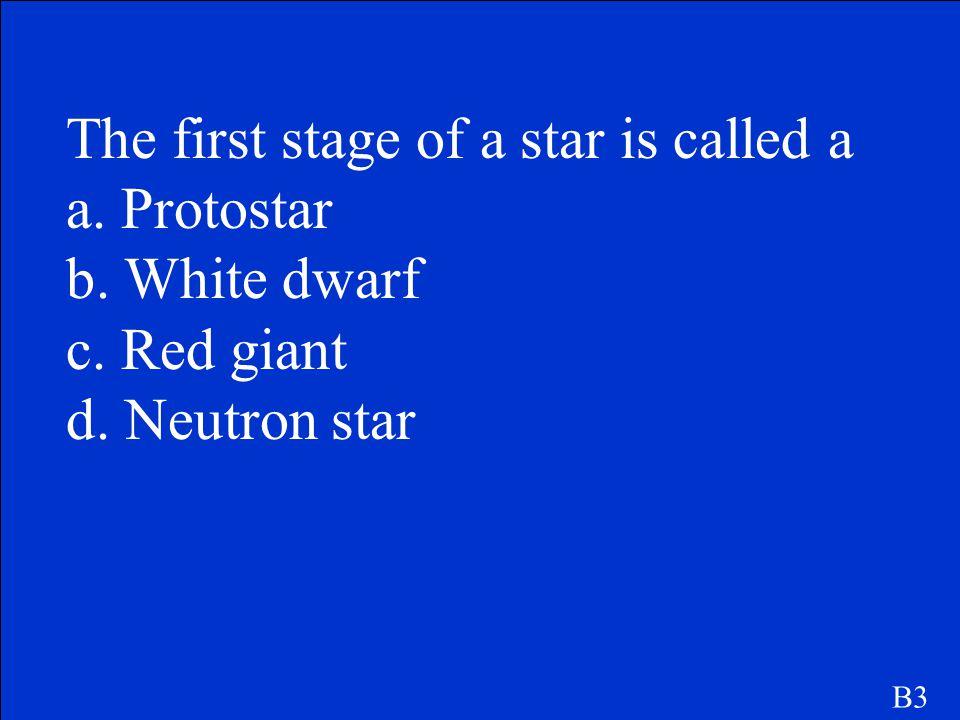 B. a neutron star. B2