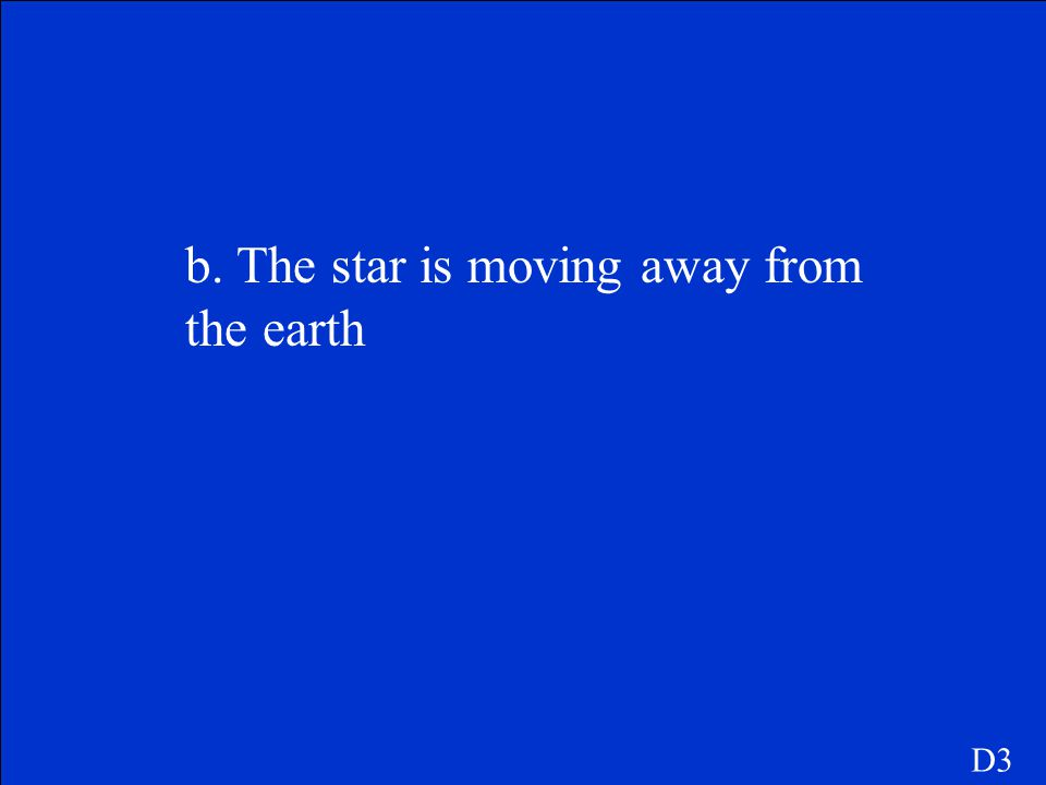 The light from a distant star appears to be shifted toward the red end of the spectrum(a red shift). Which of the following can you conclude? a. The s