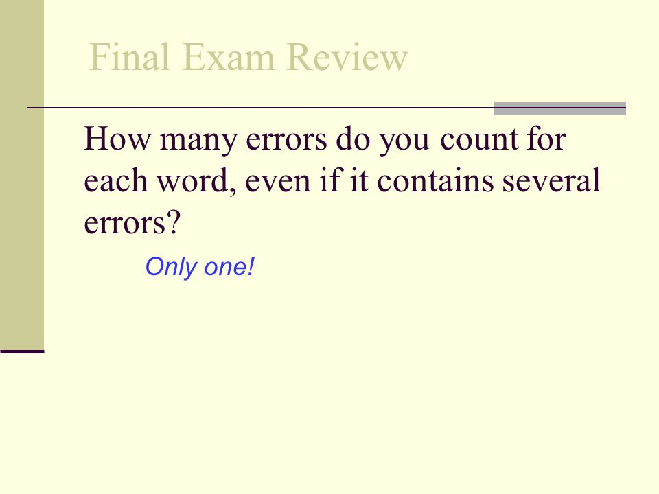 How is typing speed measured? wam (words a minute) Final Exam Review