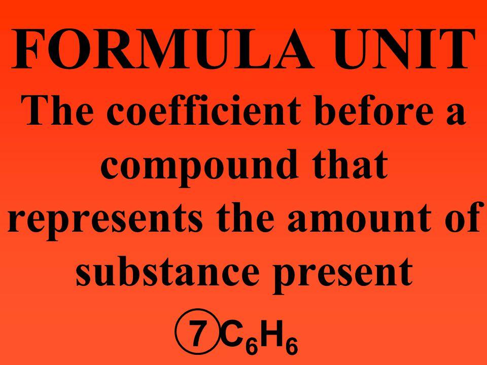 Molecular Formula C 6 H 12 O 6 Molecular/Ionic Formula vs. Empirical Formula Empirical Formula CH 2 O