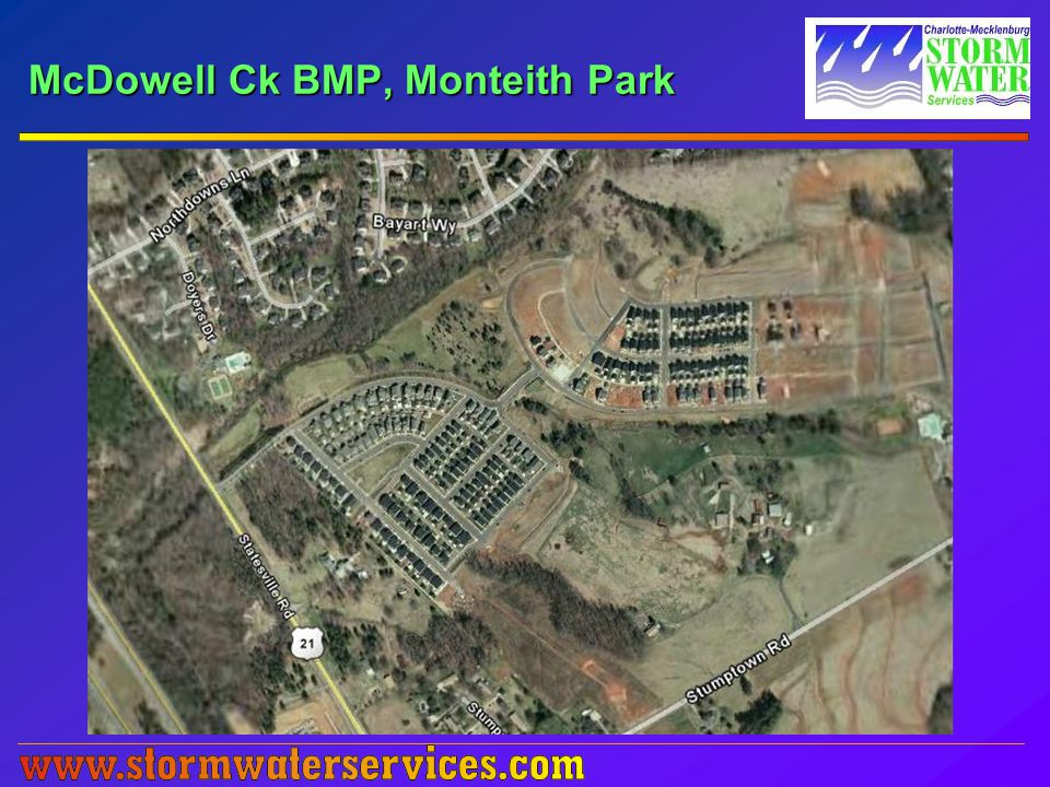 McDowell Ck BMP, Monteith Park