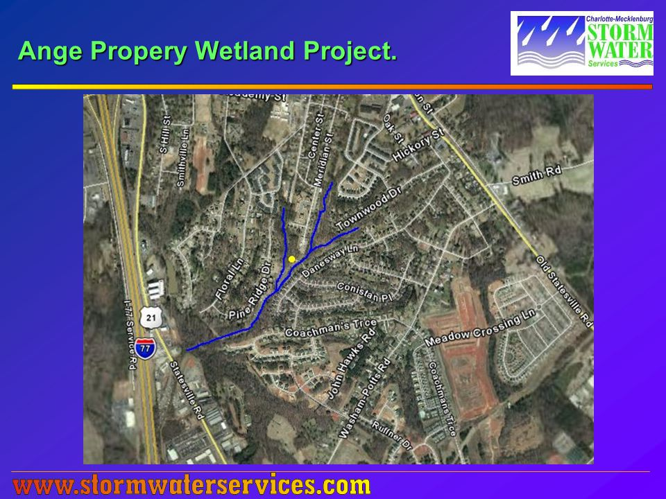 Ange Propery Wetland Project.