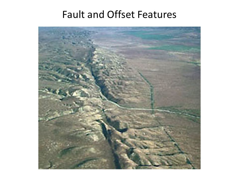 Fault and Offset Features
