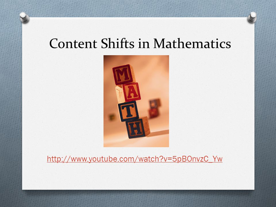 Content Shifts in Mathematics   v=5pBOnvzC_Yw