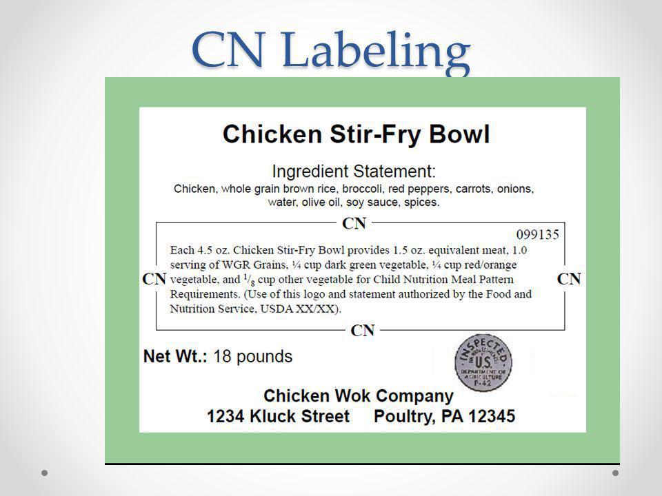 CN Labeling