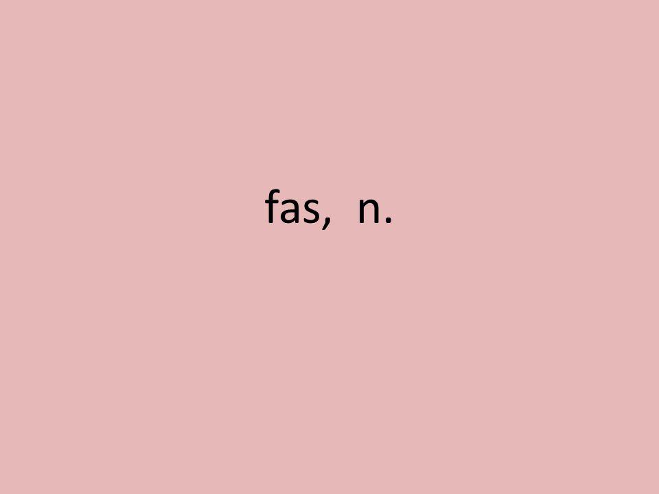 fas, n.