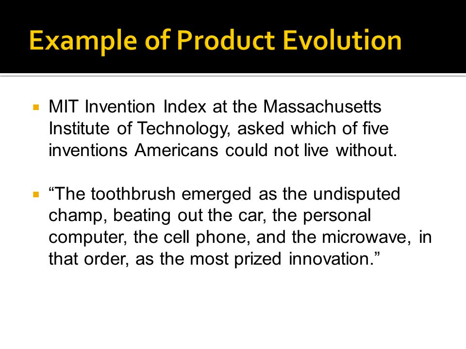  MIT Invention Index at the Massachusetts Institute of Technology, asked which of five inventions Americans could not live without.