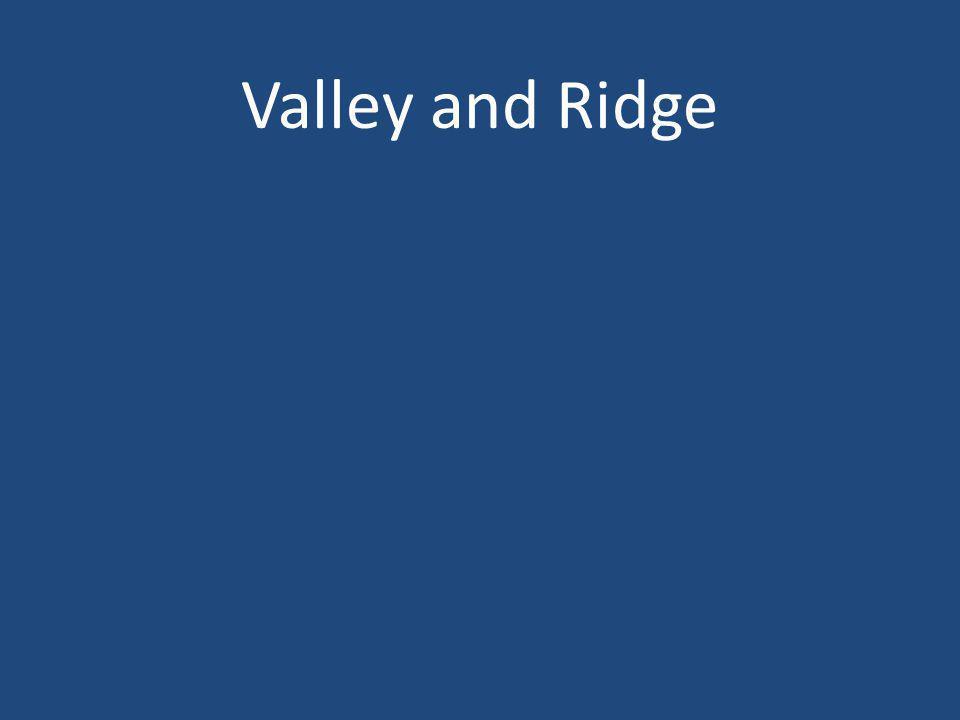 Valley and Ridge