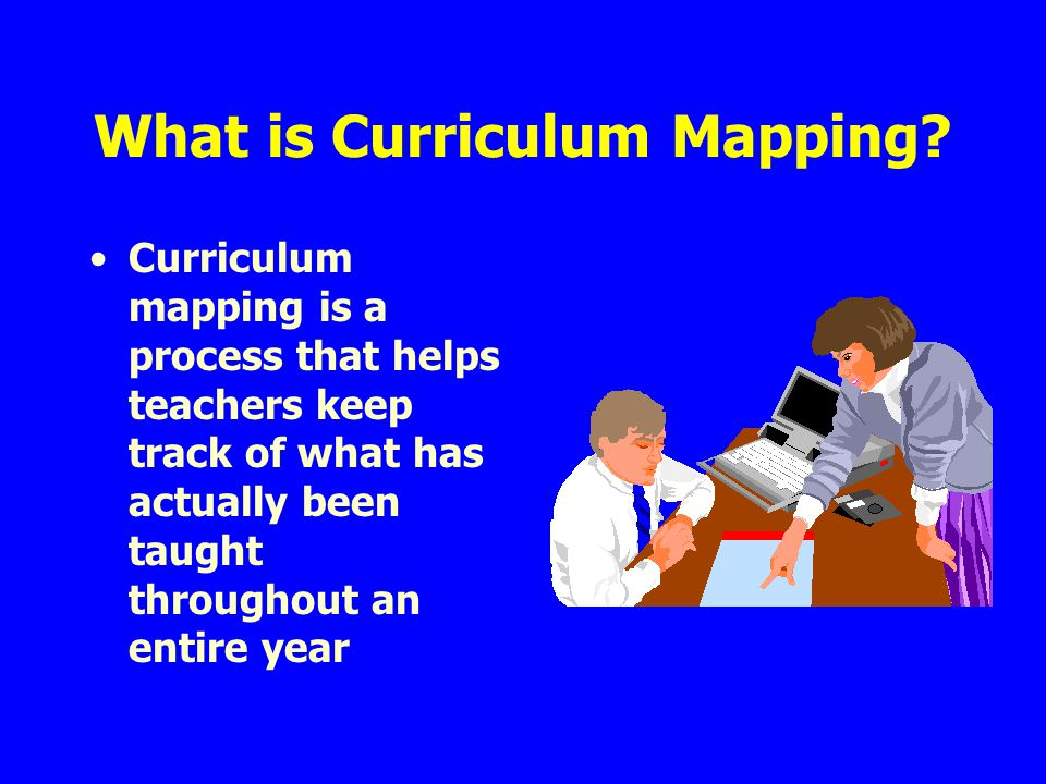 What is Curriculum Mapping.