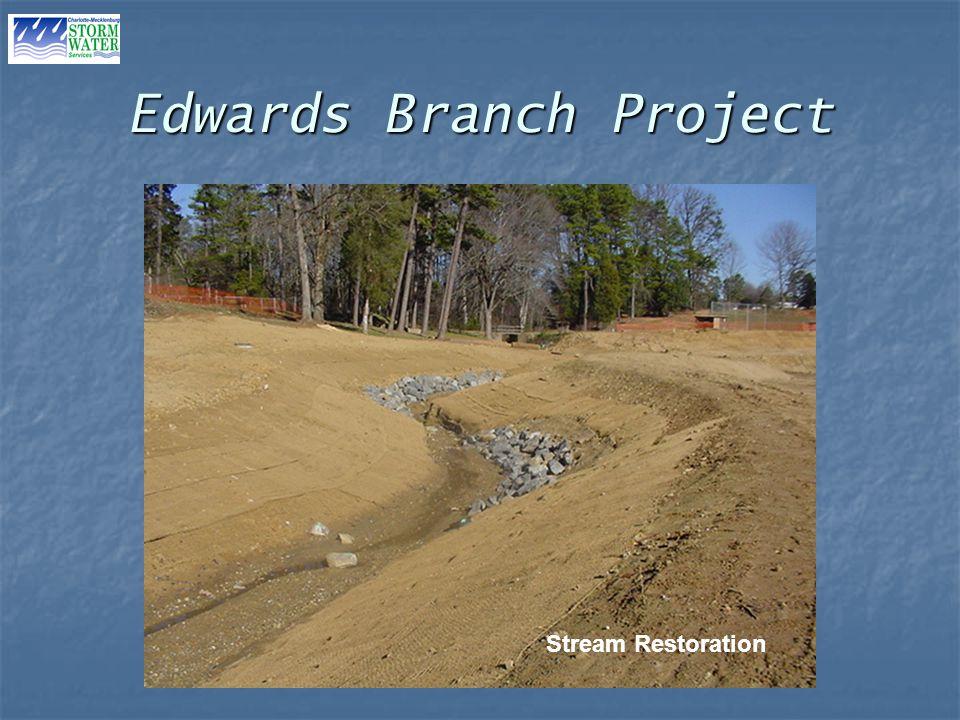 Edwards Branch Project Stream Restoration