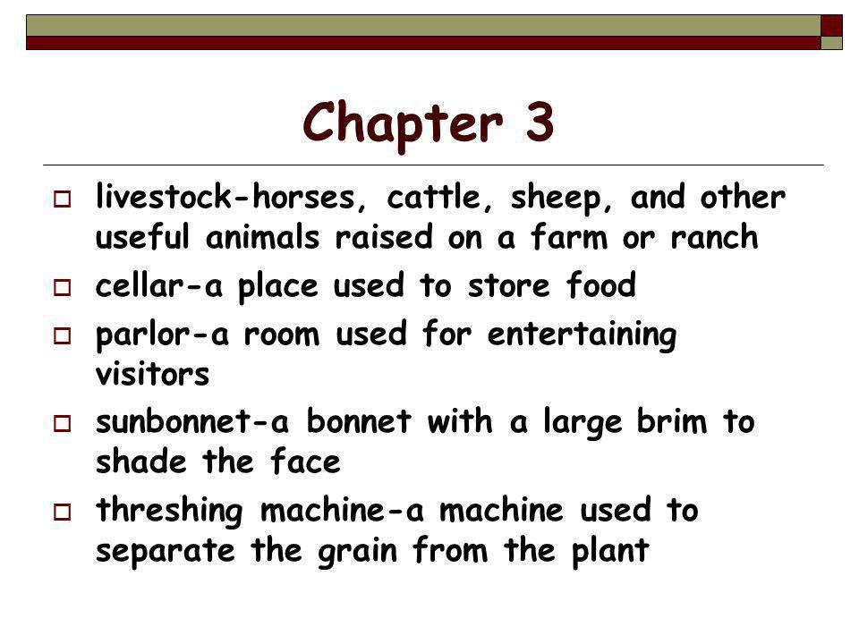 Chapter 12  Stetson hat-cowboy hat  stillborn-died when born  exquisite-extra ordinarily fine or beautiful