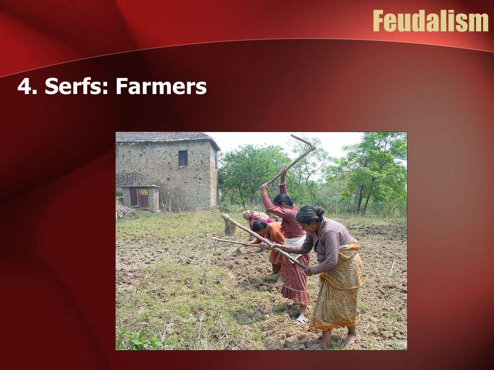 Feudalism 4. Serfs: Farmers