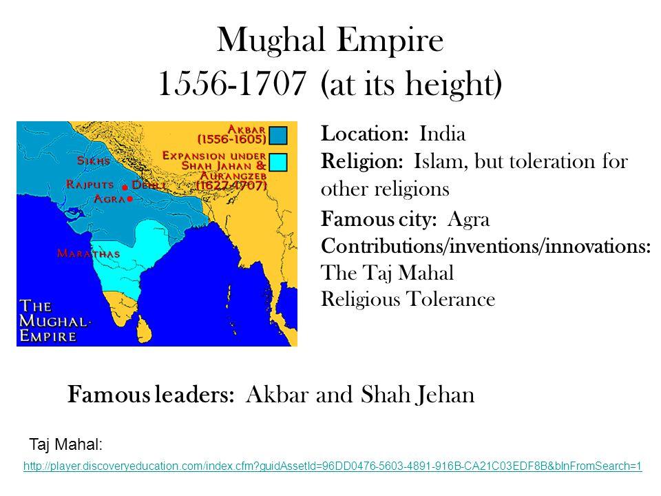 Ottoman Empire 1453-1918 Location: Turkey and most land surrounding the Mediterranean Sea.