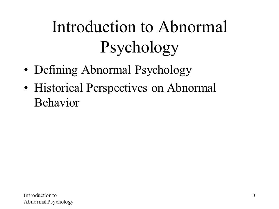 Themes and Challenges in Psychopathology Biological and Psychological –Bottom up and Top down Science and Practice –Empirical approach and Human approach Developmental Changes –Mental health and mental disorder change over the lifetime Treatment of Choice –Level of treatment question –Symptoms or causes