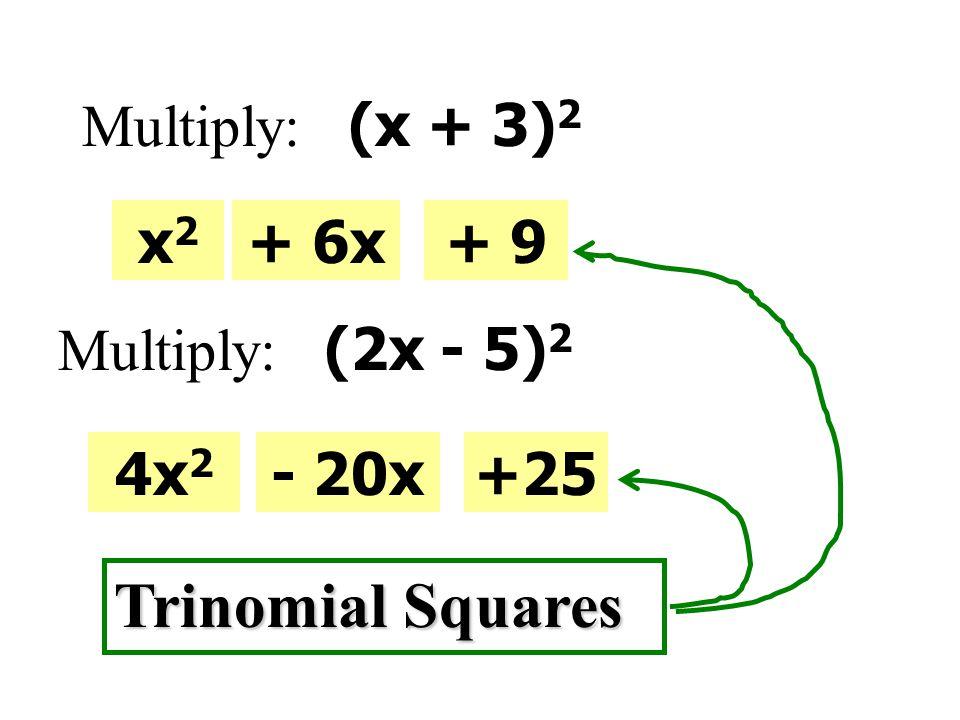 Factor A, C, E, GB, D, F 1 x 2 - 49x 2 - 25 2 36x 2 - 416x 2 - 9 3 8x 2 - 1812x 2 - 3 4 81x 4 - 1x 4 - 81 5 16x 2 + 3636x 2 + 4