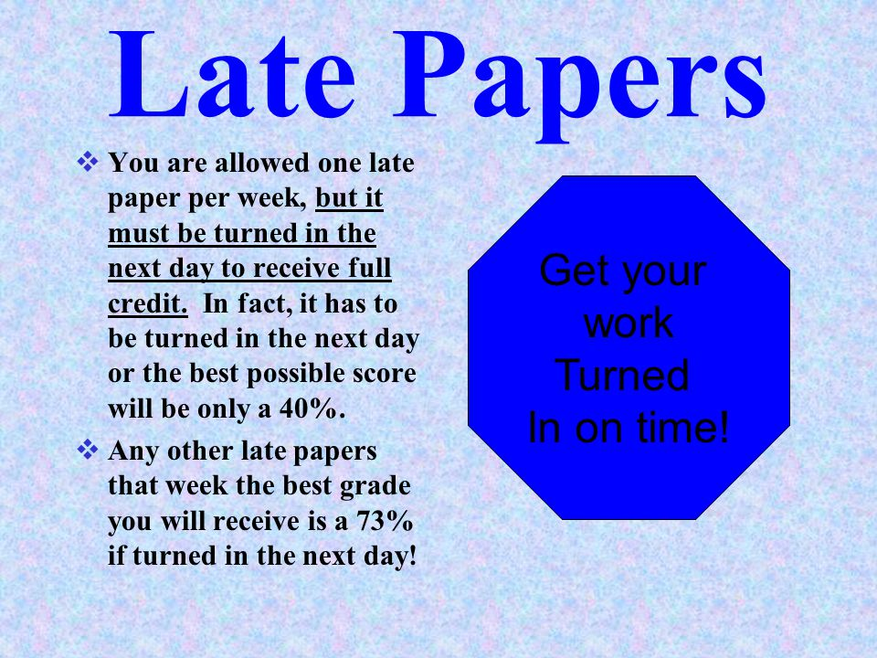 Paper Headings  The following items need to appear on all daily assignments in the top right hand corner: NAME, LESSON #, PROBLEMS ASSIGNED, AND SPEC