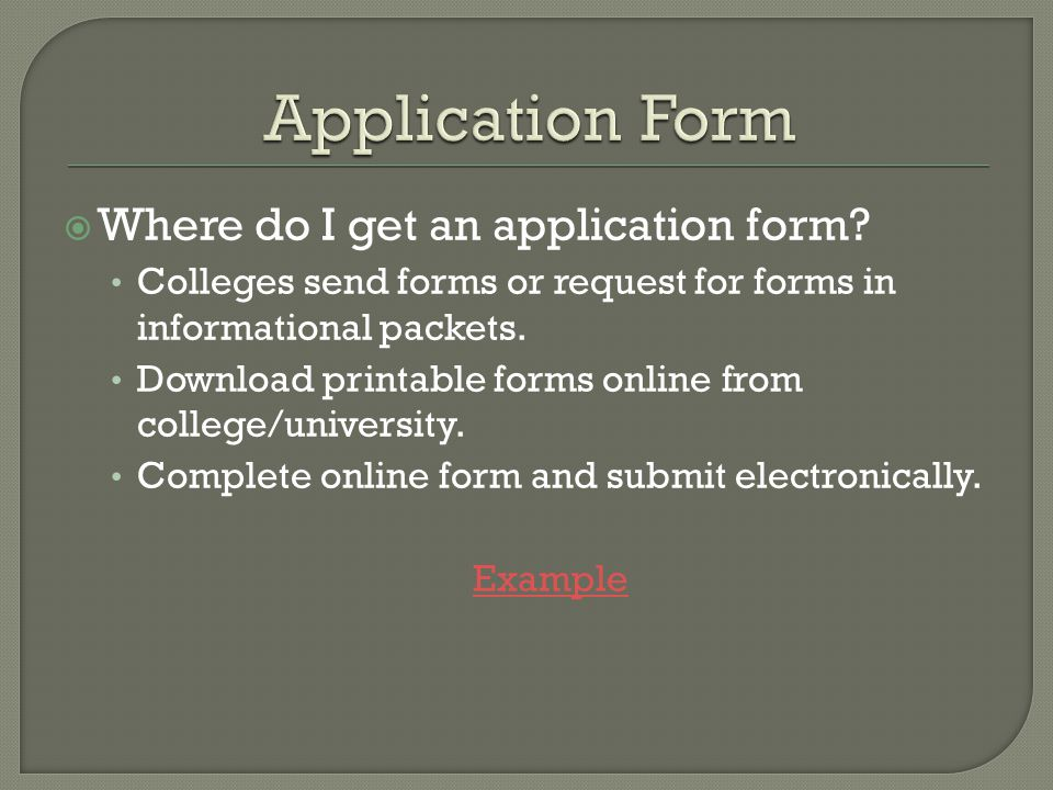  Usually anywhere from $25 - $35.00  Non-refundable  Write check, bring with completed application to guidance department