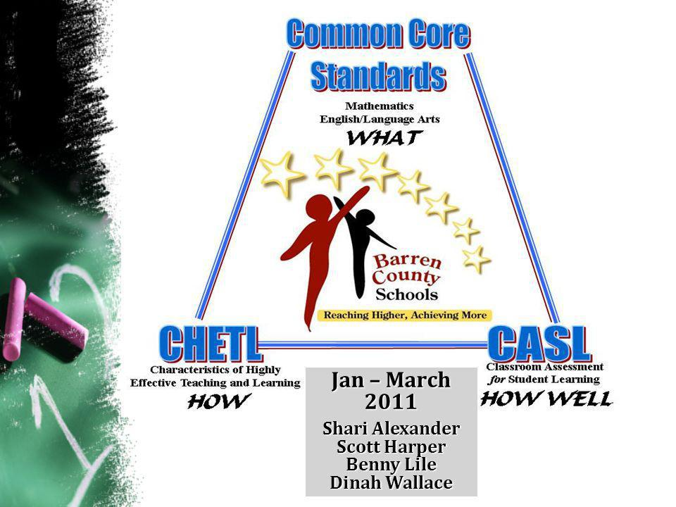 Supporting the Common Core Implementation The How & How Well